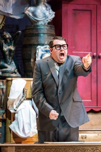 The Producers UK Tour 2015 - Jason Manford as Leo Bloom - photo credit Manuel Harlan