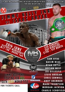 Jimmy Kelly JNR vs Isaac Aryee
