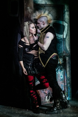 American Idiot The Musical - UK Tour - Amelia Lily (Whatsername) & Lucus Rush (St. Jimmy) - Photo by Darren Bell