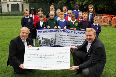Cheque Banner Pupils