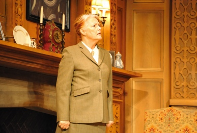 Louise Jameson (Mrs Boyle) in the 60th Anniversary Tour of Agatha Christie's The Mousetrap. Credit Liza Maria Dawson (2)